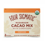 Four Sigmatic Mushroom Cacao Mix with Cordyceps - 10 Packets   4897039310479