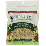 Frontier Natural Products Organic Fennel Seed Whole 24g | 089836210289