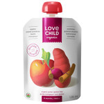 Love Child Organics Baby Food Pouch with Quinoa, Apples, Sweet Potatoes, Beets and Cinnamon for 6 Months and Over | 0858860001114