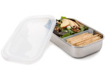 U-Konserve Divided Rectangle Container Clear | 853768002881