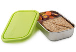 U-Konserve Divided Rectangle Container Lime | 855626005348