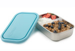 U-Konserve Divided Rectangle Container Sky blue | 855626005331