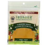 Frontier Natural Products Organic Turmeric Root Ground 30g | UPC: 089836210463