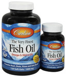 Carlson Norwegian Very Finest Fish Oil Soft Gels Lemon | 088395016349