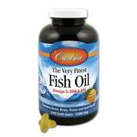 Carlson Norwegian Very Finest Fish Oil 1000mg Soft Gels 240 Soft Gels - Orange | 088395016424