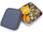 U-Konserve Stainless Steel Divided To-Go Container Ocean Blue 30 oz | 855626005287