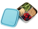 U-Konserve Stainless Steel Divided To-Go Container Sky Blue 50 oz |855626005294