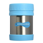 U-Konserve Insulated Food Jar Sky Blue 12oz | 853768002416