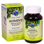 Natural Factors Women's Multivitamin and Mineral Whole Earth and Sea Tablets 120 tablets | 068958355207