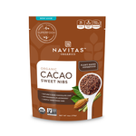Navitas Organics Organic Cacao Sweet Nibs 113g | 858847000321