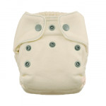 Thirsties Natural Newborn Fitted Snap Diaper Fin 5 to 14 lbs   816905020162