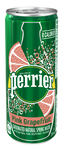 Perrier Carbonated Natural Spring Water Pink Grapefruit 250 ml | 074780911528