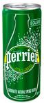 Perrier Carbonated Natural Spring Water Original 250 ml  | 074780000055