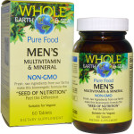 Natural Factors Whole Earth and Sea Men's Multivitamin and Mineral 60 Tablets | 068958355047