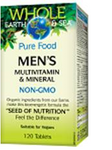 Natural Factors Men's Multivitamin and Mineral Whole Earth and SeaTablets 120 tablets | 068958355221