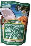 Let's Do Organic Gluten Free Finely Shredded Unsweetened Coconut 250g | 043182015202