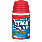 Pepcid Complete Dual Action Mint Tablets 50 chewable tablets | 00064541313623