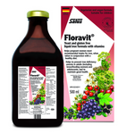 Flora Salus Haus Floravit - Yeast and Gluten Free Liquid Iron Formula with Vitamins 500ml | 4004148017186