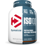 Dymatize Nutrition ISO 100 Hydrolyzed Whey Protein Isolate Fudge Brownie