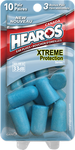 Card Health Cares Hearos Ear Plugs Xtreme Protection Series Blue   756063693078