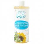 Green Beaver Castile All Purpose Soap - Frosty Mint 495 ml | 834639009550