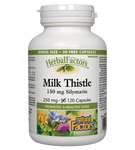 Natural Factors Milk Thistle 150mg Silymarin, HerbalFactors 90+30 Bonus Capsules | 068958081816