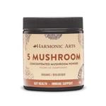 Harmonic Arts 5 Mushroom Concentrated Mushroom Powder Organic Gut Health - Immune Support - 45g  | 7572 | 842815075725 |
