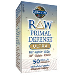 Garden of Life RAW Primal Defense Ultra 50 Billion CFU 60 Caps| 658010115742