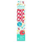 Preserve Compostable Straws Red | 631740750025