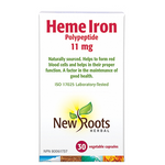 New Roots Herbal Heme Iron Polypeptide 11mg | 628747118767