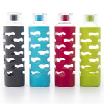 U-Konserve Glass Bottle with Silicone Sleeve
