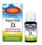 Carlson Super Daily D3 1000 IU - 10.3mL
