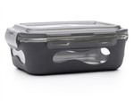 U-Konserve Glass Food Container with Silicone Sleeve slate | 855626005140