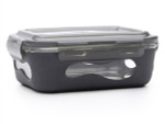 U-Konserve Glass Food Container with Silicone Sleeve slate | 855626005164