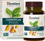 Himalaya Herbal Healthcare Turmeric 95 With Curcumin 30 veg capsules | 605069432054