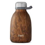 S'well Bottle Stainless Steel Roamer Teakwood 40 oz   814666027499   SWL-1111-001