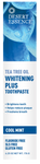 Desert Essence Tea Tree Oil Toothpaste Whitening Plus | 718334334134