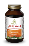 Purica Lion's Mane Micronized Mushrooms - Memory Support Vegan 60 Caps | 815555000227