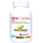 New Roots Herbal Ultra B Complex 50mg - 60 Vegetable Capsules   628747108928