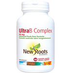 New Roots Herbal Ultra B Complex 50mg -180 Vegetable Capsules   628747106009