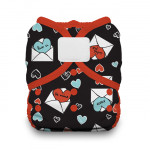 Thirsties Duo Wrap Hook and Loop Diaper Love Notes Size One  