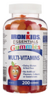 Ironkids Gummies Multi-Vitamins 200 Gummies   683702200062
