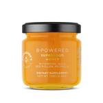 Beekeeper's Naturals B. Powered Superfood Honey with Royal Jelly, Bee Pollen, Propolis 125g | 628055142041