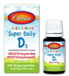 Carlson Kid's Super Daily D3 400 IU | 088395012600