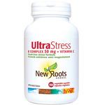 New Roots Herbal Ultra Stress B Complex 50mg + Vitamin C | 628747109024