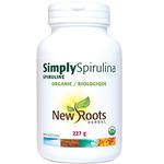 New Roots Herbal Organic Simply Spirulina Powder | 628747016605