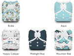 Thirsties Duo Wrap Hook and Loop Diaper Package Birdie |