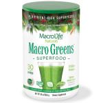 MacroLife Naturals Macro Greens Superfood 238 grams   054139909000