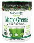 MacroLife Naturals Macro Greens Superfood 850 grams   541399080109