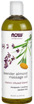 Now Solutions Lavender Almond Massage Oil | 733739076632